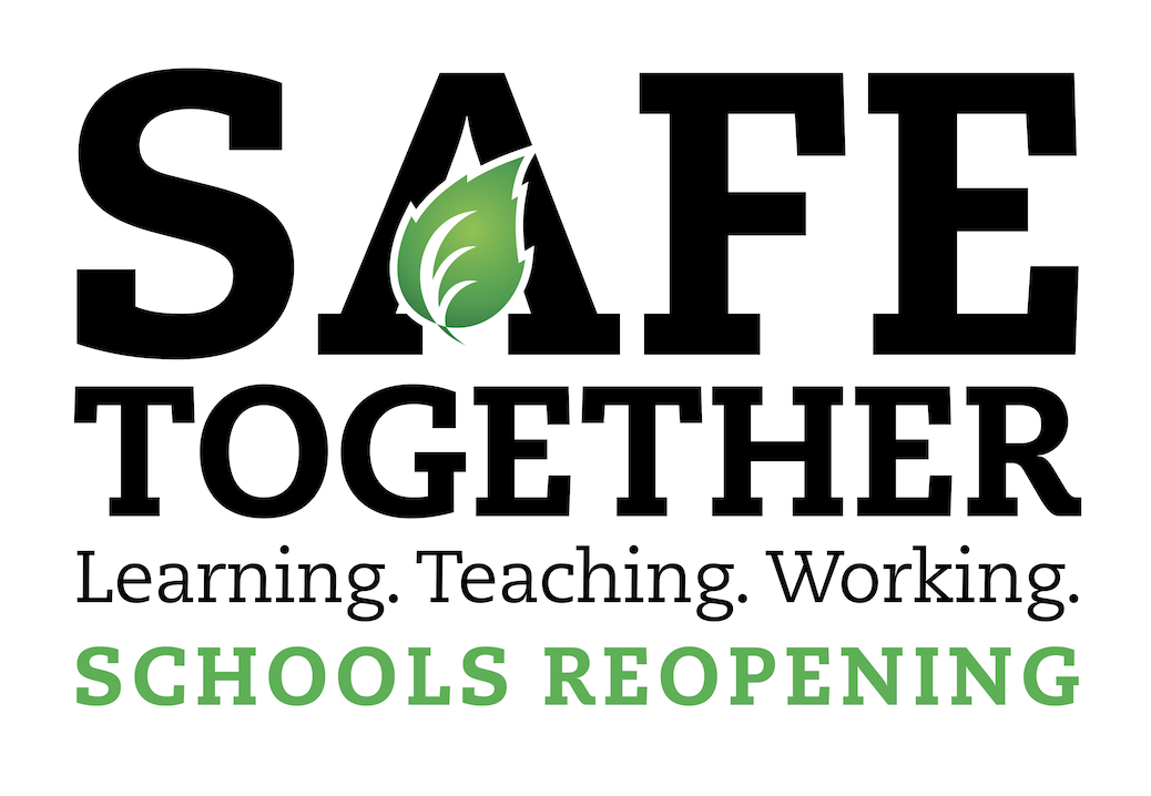 Safe Together School Reopening Logo